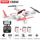 Portable RC Drone Quadcopter SYMA X56W FPV WiFi HD Camera Air Fixed High Headles