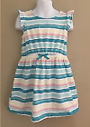 NWT Gymboree Girls Hop N Roll Multi Color Striped Dress Size 5 & 8