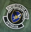 US ARMY ARMY SECURITY AGENCY VETERAN PATCH W/HOOK NEW (B204)
