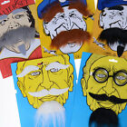 Funny Costume Party Halloween Beard Facial Hair Disguise Mustache Decoration ES