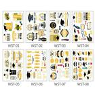 10PCS Graduation Party Tattoo Stickers Student Party Supplies Temporary Tattoo