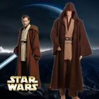 Star Wars Revenge of the Sith Obi Kenobi Wan Costume Jedi COSplay Suit Halloween