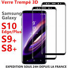 VITRE VERRE TREMPE SAMSUNG S8 S9 Plus S10 e S20 FILM PROTECTION ECRAN 3D TOTAL