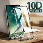2Pcs 10D Full Cover Real Tempered Glass Screen Protector For i phone X XR XS MAX