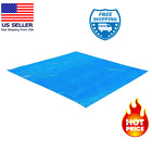 Swimming Pool Ground Protection Cover Cloth Tarp Sheet For Intex Pools 8'- 15 Ft