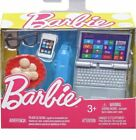 Barbie Doll Tech Accessory Accessories Laptop Cookies Iphone Cell phone Glasses