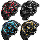 SKMEI Army Military Waterproof Sport Men's LED Quartz Analog Digital Wrist Watch image