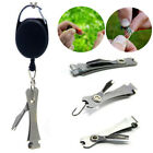 Knot Fly Tool Fishing Clippers#3uick Line Nippers Cutter Snip Zinger Retractor#3