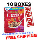 (10 BOXES) Fruity Cheerios, Breakfast Cereal, Family Size, 19.6 oz Box