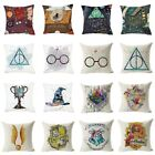 "17"" Pillow Cases Harry Potter Printed Kids Cushion Cover Throw Sofa Home Decor image"