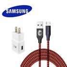 3/6/10Ft  Samsung Galaxy S6 S7  Note 4 Note 5 Adaptive Fast Rapid Charger cable