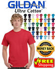 Gildan Ultra Cotton T-Shirt Mens Short Sleeve Tees 100%  6 ounce Cotton 2000 image