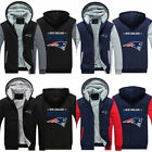 New England Patriots Fan Hoodie Fleece zip up Coat winter Jacket warm Sweatshirt $30.88 USD on eBay