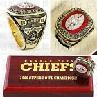 Premium 1969 Kansas City Chiefs Super Bowl Champions Rings Brass Boxed Replica on eBay