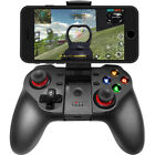 Wireless GamePad for iPhone,iOS,Android Mobile Smartphones Black Game Controller