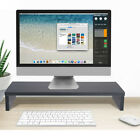 Monitor Stand Riser With Storage Organizer Drawers Bamboo [Fast Shipping] US