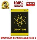 MORE CAPACITY Extended Quantum SlimBattery Replacement for Galaxy S4,S5,Note 3 4