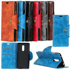PU Leather Slot Wallet Pouch Case Cellphone Skin For LG V G Q X Series Phone