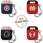 MARVEL Avengers Apple Airpod Silicone Case+Keyring 4types Official Authentic MD