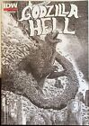 GODZILLA IN HELL #1 IDW Comics Movie Horror 2nd Print James Stokoe Variant Cover