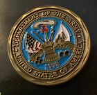 CHALLENGE COIN UNITED STATES ARMY DEFENDING FREEDOM