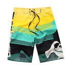 Men Board Shorts Surf Beach Sport Swim Wear Leisure Trunks Pants Swimsuit 30-38