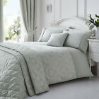 Laurent Silver Bedding. Choose From Duvet Sets Throw Curtains or Cushion Covers