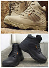 Desert Delta Force Military Boots Tactical Airsoft Hunting Outdoor Army Tan Men@