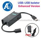USB to USB Isolator Plus Convert Module Higher Spread Rate Power Protection 2.0