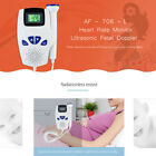 Home Pocket Fetal Doppler Pregnant Ultrasonic Fetal Doppler Heart Rate Monitor