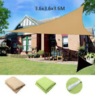 Sun Shade Sail Garden Patio Sunscreen Awning Canopy Screen UV Block Greenbay US
