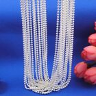 """16""""-30"""" Jewelry 925 Sterling Silver 2mm Ball Bead Chain Necklace Pendant Lot"""