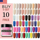 NICOLE DIARY 10ml Sweet Pure Glitter Dipping Powder French Nail Art Tips DIY