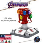 Marvel Avengers Iron Man Endgame Infinity SWAT Gauntlet Thanos Minifigure Lgeo <br/> BUY ANY 2, GET 1 FREE! INCLUDES SETS, LIMITED TIME ONLY