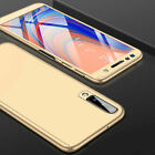 360° Full Cover Case + Tempered Glass For Samsung Galaxy A3 A5 A6 A8 Plus A9 A7