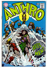 ANTHRO #2 in FN+ condition from DC Silver Age comic 1968 Howie Post art