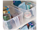 Plastic Handy Caddy Storage Baskets Shelf,Cupboard Organizer Holder Racks
