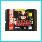 👀👀 Judge Dredd 16 bit MD Game Card For SEGA Genesis🍾🍾