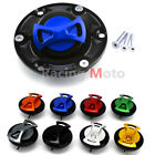 Aluminum Motorcycle Keyless Oil Gas Tank Cap For Aprilia Shiver 750 Tuono 1000 $23.35 USD on eBay