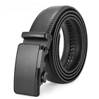 Men Automatic Buckle Belts Genuine Cow Leather Belt For Jeans Pants Trousers