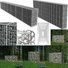 Outdoor Garden Steel Gabion Wall with Cover Gabion Baskets Stones Retaining Wall