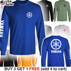 Yamaha Factory Racing T-Shirt Motorcycle YZ 80 85 125 250 R1 R6 FZR Team Chest image