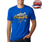 Stanley Cup Champs St. Louis Blues Ice Hockey NHL T-Shirt For Fan Made In USA $14.99 USD on eBay