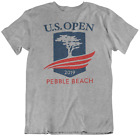 2019 U.S. OPEN GOLF TOURNAMENT T-SHIRT...pebble beach grey tee pga us open new