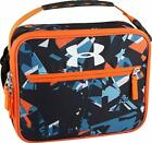 Under Armour Lunch Box Orange Fracture PVC-free Polyester and LDPE