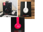 New Beats by Dr. Dre Solo2 Wired On-Ear Headphones - Pick Color Black White