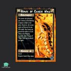 Bones of Shakir Hind - Limited - Rage Apocalypse CCG TCG Cards