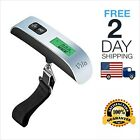 Portable Travel Tare 110lb 50kg Hanging Digital Suitcase Luggage Scale LCD New