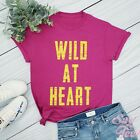 Wild At Heart Shirt-Women Workout Tee-Bible Tee-Gym Top-Yoga Tee-Christian Shirt