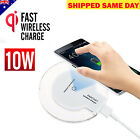 Qi FAST Charging Wireless Charger Pad Receiver for Phone XS XR 8 Samsang S9 S8 A
